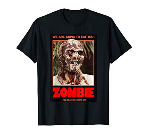 Zombie T-Shirt Funny B Horror Movie Poster for sale  Delivered anywhere in USA