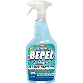 Amazon Com Repel Glass Amp Surface Cleaner Coastal Shower