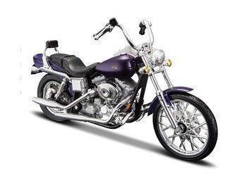 Harley Davidson Dyna Wide Glide FXDWG (2001) Diecast Model Motorcycle
