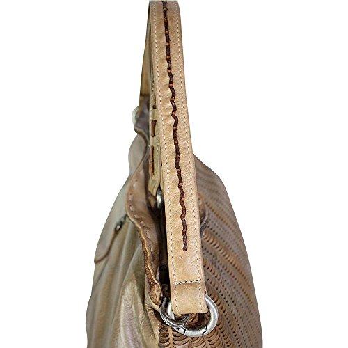 Reptile's Borsa A Miele House Donna beige Spalla rqvprnTC