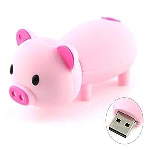 Cute Pig Piggy USB Flash Drive (16GB Light Pink)