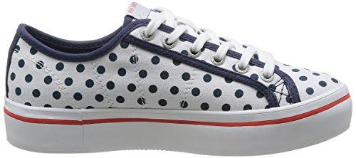 Top Pepe Dotts Women's Duffy Sneakers Jeans Low White White wXpFqR1z