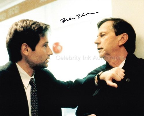WILLIAM B. DAVIS as CBG Spender - The X-Files Genuine Autograph from Celebrity Ink