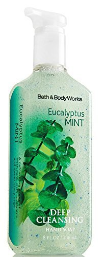 Bath & Body Works Deep Cleansing Hand Soap Eucalyptus Mint (Sea Island Cotton Hand Soap)