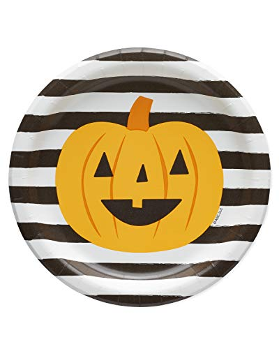 Halloween Desserts For Parties (American Greetings Halloween Party Supplies, Pumpkin Paper Dessert Plates)