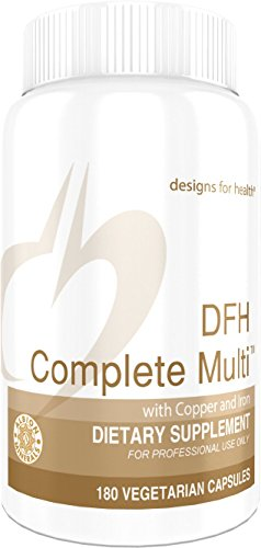 (Designs for Health DFH Complete Multi with Copper + Iron - Full Spectrum Multivitamin/Multimineral (180 Capsules))