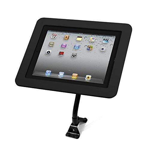 Maclocks 159B213EXENB Executive Enclosure with Flexible Arm for iPad 2/3/4, iPad Air, iPad Air 2 (Black) by Compulocks