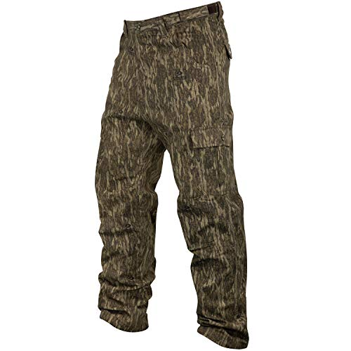 Mossy Oak Youth Cotton Mill 2.0 Camouflage Hunting Pant in Multiple Camo Patterns