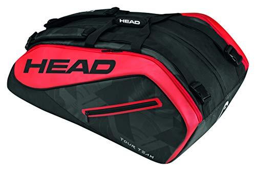 HEAD  Tour Team 12R Monstercombi Tennis Bag Black/Red