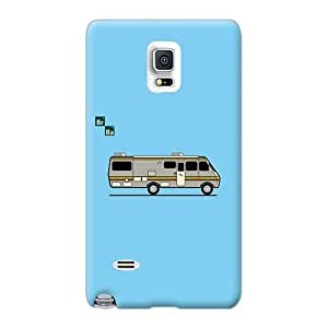 Shock Absorbent Cell-phone Hard Covers For Samsung Galaxy Note 4 With Unique Design High Resolution Breaking Bad Rv Series Icase88