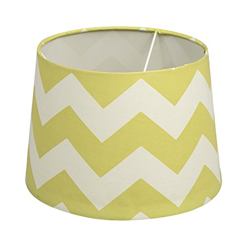 Lolli Living Lampshade, Green Zig Zag (Lolli Living Lamp)