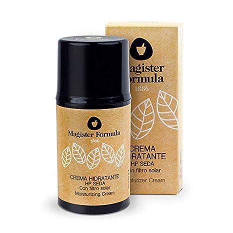 Crema Hidratante Facial HP Seda 50 ml | Seda Natural | Antiedad, Antimanchas y Antiarrugas | Vitamina E | Para piel Grasa, Seca y Mixta | Hombre y ...