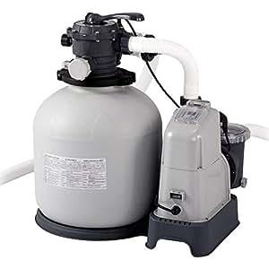 Intex 28680 - Combo arena y cloración salina ECO 11 gramos, 56.800 litros