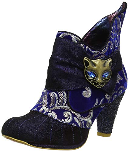 Stivaletti Irregular Miaow As Donna Choice Metallic blue Blu WErgEA
