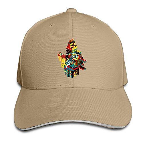 Hat Cube City Denim Skull Cap Cowboy Cowgirl Sport Hats for Men Women