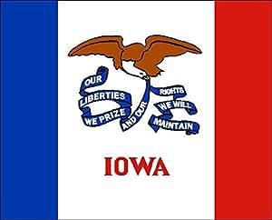 Bandera de Iowa, aprox. 90x 150cm