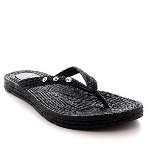Jelly Flip Flop Sandals - 8