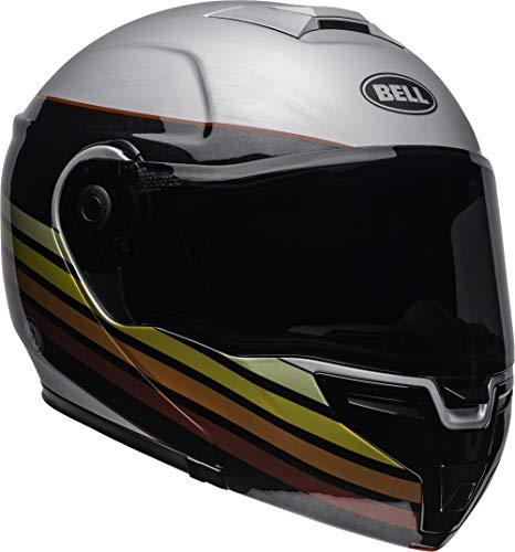 (Bell SRT Modular Street Motorcycle Helmet(RSD Newport Matte/Gloss Metal Red, Small))