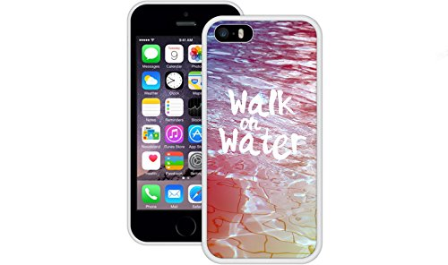 Walk on Water | Christlich | Handgefertigt | iPhone 5 5s SE | Schwarze TPU Hülle