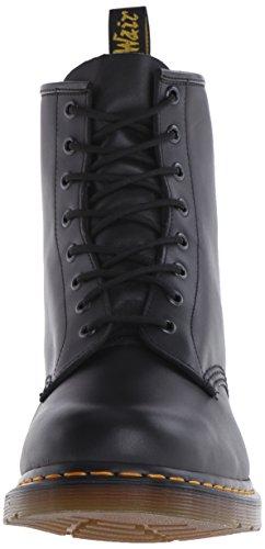 Dr. Martens 1460 8 Eye Boot BROWN 11822212 - Botas de cuero unisex Black Nappa