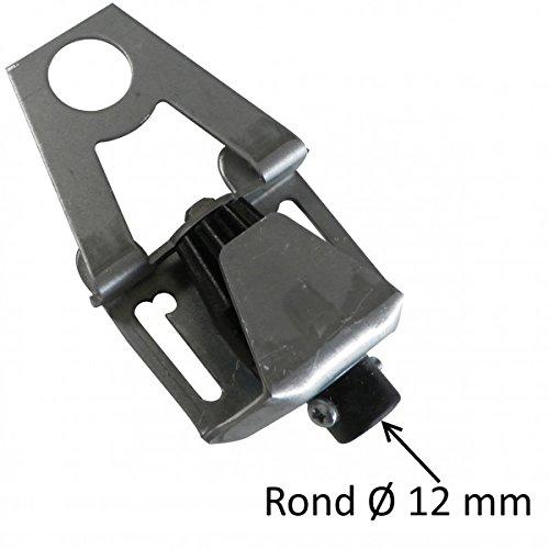 Lyre entr/ée ronde avec entr/ée /Ø12 mm