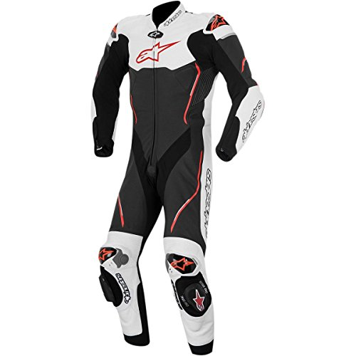 1 Piece Leather Motorcycle Suit - 7