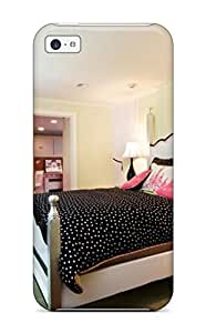 meilz aiaiHigh Impact Dirt/shock Proof Case Cover For iphone 4/4s (pink And Black Bedroom With Green Painted Walls And Decal Chandelier) 4469301K28645257meilz aiai