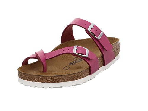 Birkenstock Womens Mayari Magenta Haze Toe Loop Regular fit Sandals Size 7
