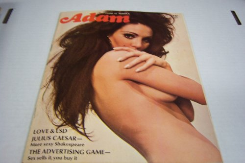 """Purchase low price Adam Busty Adult Magazine """"The Advertising Game-sex Sells , You Buy """" Vol. # June"""