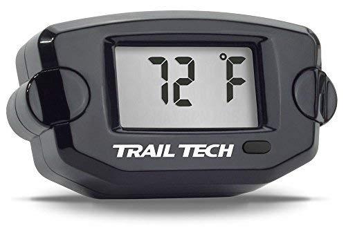 Trail Tech 742-EH1 Black TTO Temperature Digital Gauge 19mm Radiator Hose Sensor