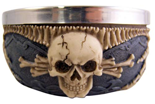 Gothic Skull Bowl Candy Dish