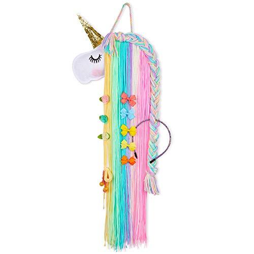 Accesories For Girls - Beinou Unicorn Hair Clips Holder Rainbow