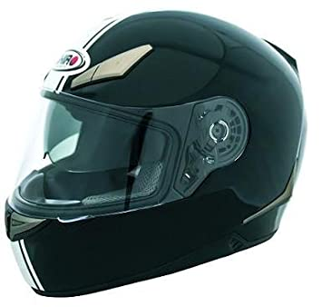 Shiro Casco Integral SH-715 Café Racer Black (M/58)