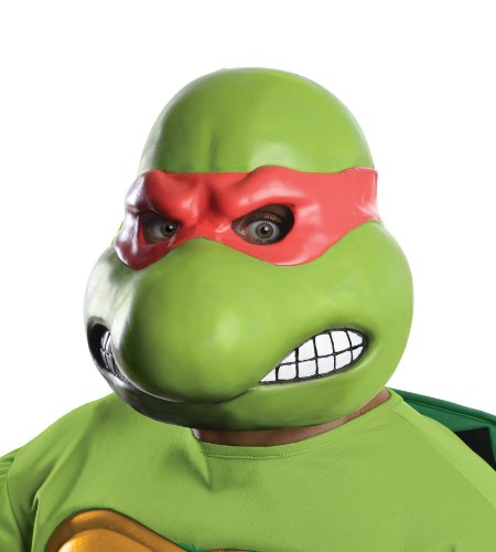 Nickelodeon Teenage Mutant Ninja Turtles Adult Raphael 3/4 Mask
