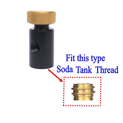 New CO2 ASA On/Off Adapter For Fill Soda tank by GFSP Outdoor Sports