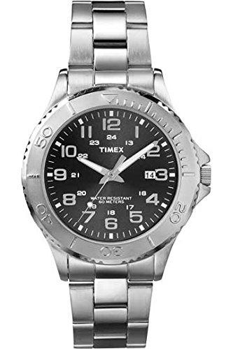 Timex T2P391PF - Reloj de cuarzo para hombres, color plata