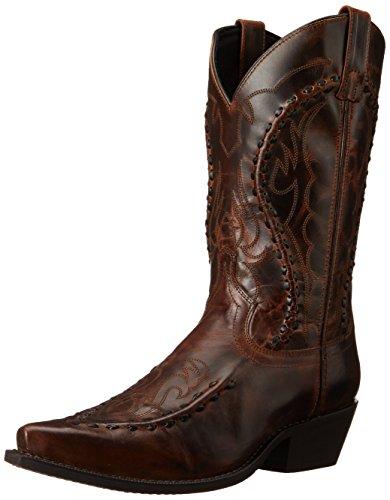 (Laredo Men's Laramie Western Boot, Rust, 9 D US)