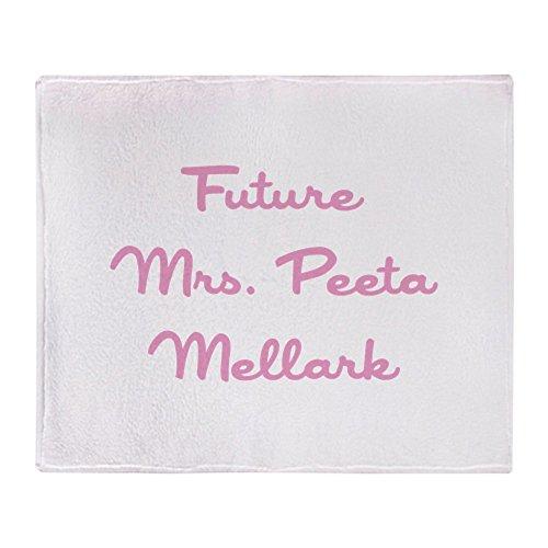"CafePress - Future Mrs Mellark - Soft Fleece Throw Blanket, 50""x60"" Stadium Blanket"