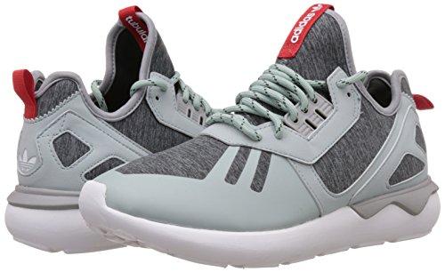 Adidas Grigio Bianco Rosso Alte Verde Tubular Weave Sneaker Uomo Runner gwgqApr