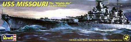 Revell 1:535 Uss Missouri Battleship