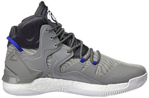Adidas D Rose 7Herren Basketball Schuhe, Grau–�?grpuch/Ftwbla/grpudg) Gris