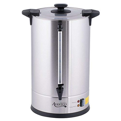 Coffee Urn,110 Cup (3 Gallon) Stainless Steel