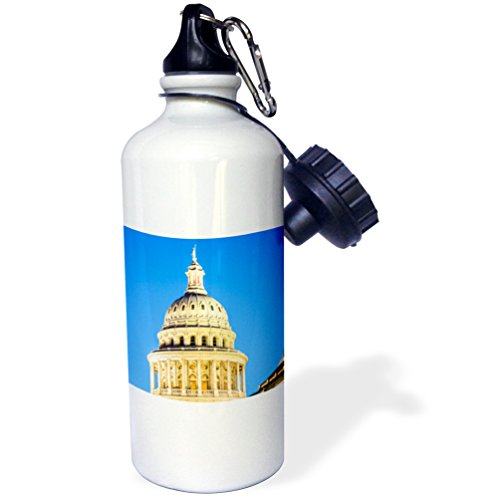 3dRose USA, Texas, Austin. Capitol Building. Statue of The Goddess of Liberty-Sports Water Bottle, 21oz (wb_191730_1), 21 oz, Multicolor