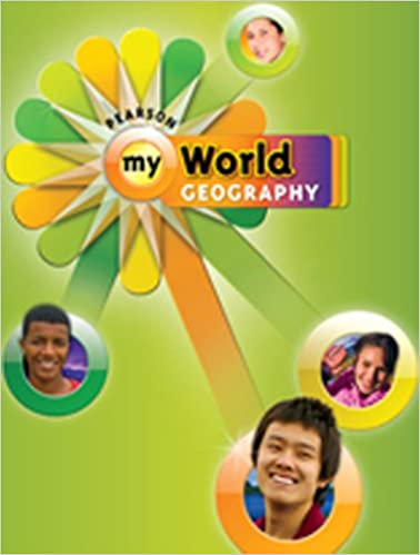 Pearson My World Geography 9780133691627
