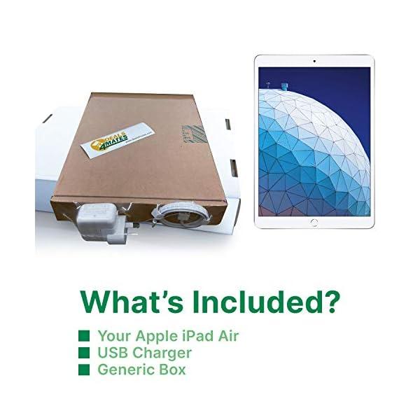 "Apple iPad Air | 10.5"" | 3rd GEN | WI-FI | 64GB | Silver | 2019 | (Renewed) 6"