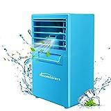 HoomDirect Mini Air Humidifier Cooler, Noiseless Small Desktop Misting Fan, Air Circulator Conditioner