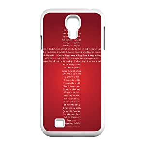 Samsung Galaxy S4 I9500 Phone Case Christ Jesus cross Protective Cell Phone Cases Cover TTR125994