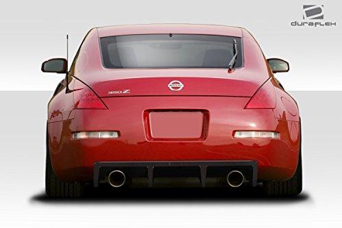 - Duraflex Replacement for 2003-2008 Nissan 350Z Z33 Vortex Rear Diffuser - 1 Piece