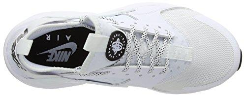 Air Men's Blanc Shoe White Ultra Chaussures Black Homme Gymnastique Nike Blanc de 102 Huarache Run Noir Black fI7dnxqT