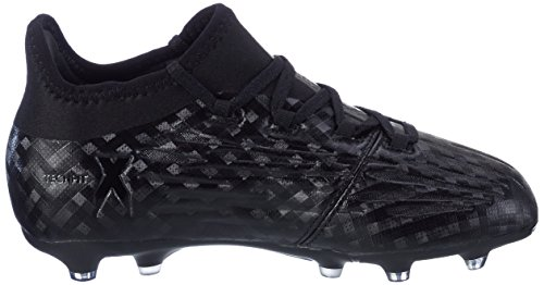 adidas X 16.1 Fg J, Botas de Fútbol para Niños Negro (Core Black/footwear White/core Black)